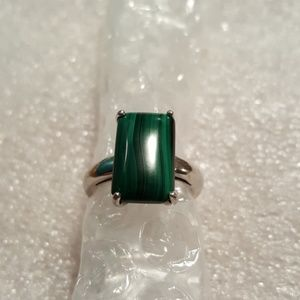 Jewelry - Sterling malachite